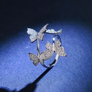Adjustable  Beautiful Butterfly Ring